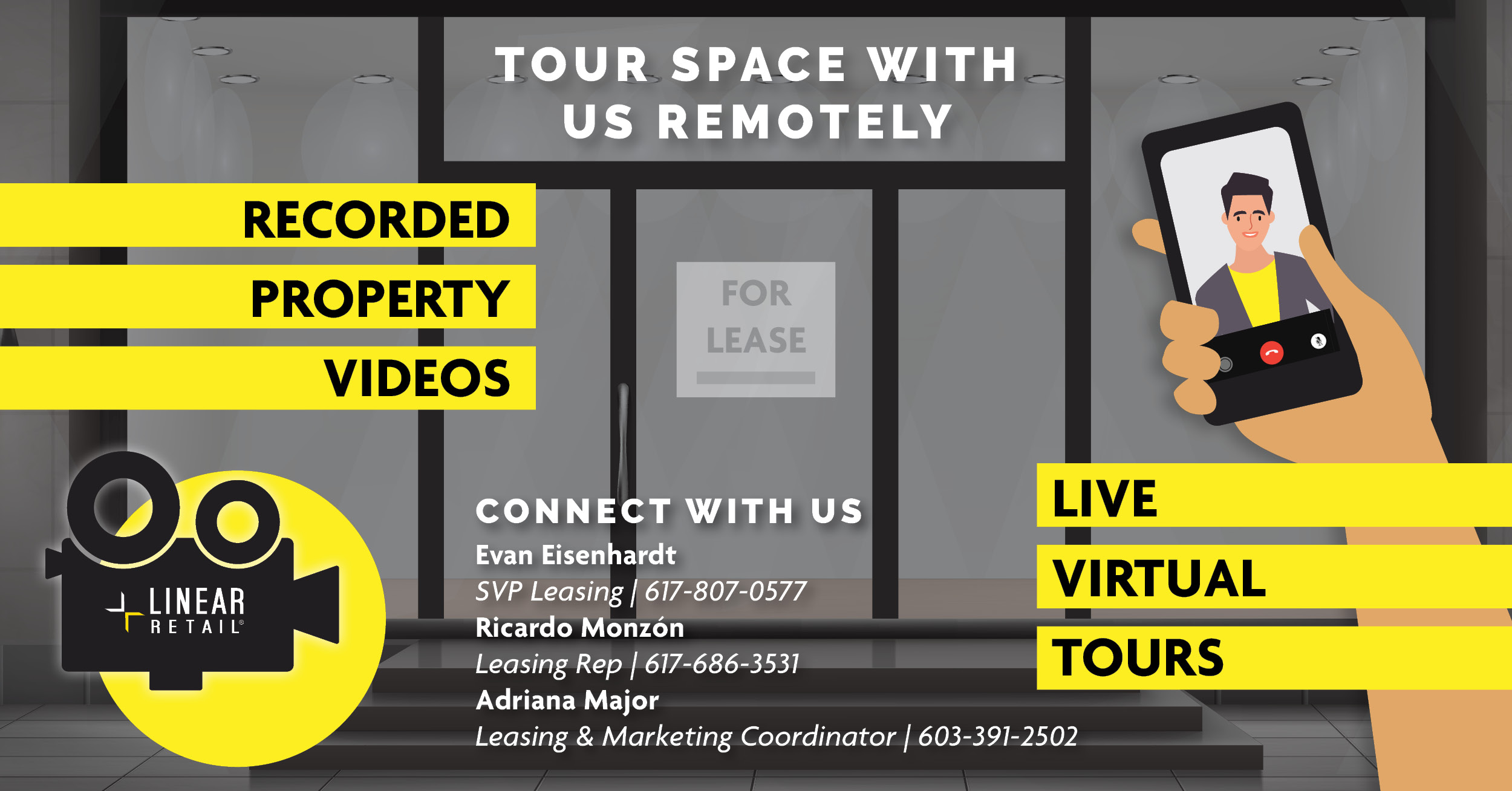 retail real estate virtual tours