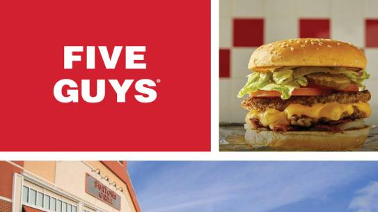 Five Guys Now Open in North Andover, MA