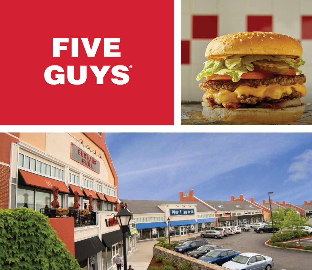 Five Guys North Andover MA