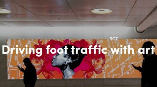 Driving Foot Traffic with Art Experiences