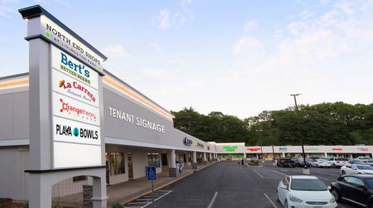 Four New Leases at North End Shops in Manchester, NH
